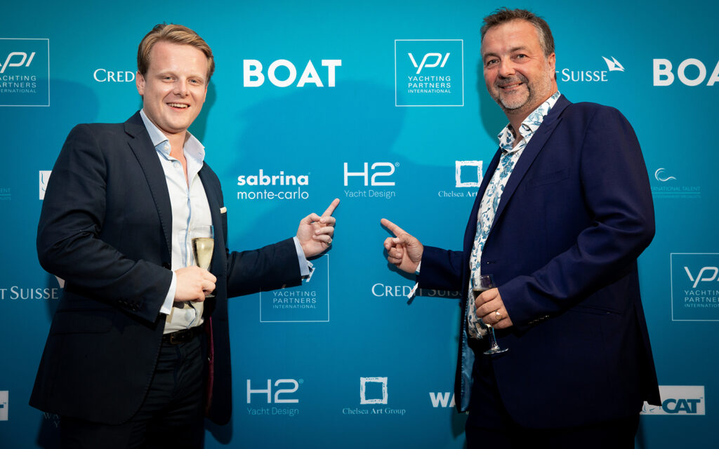 H2 celebrate 25 years at the Monaco yacht show 3
