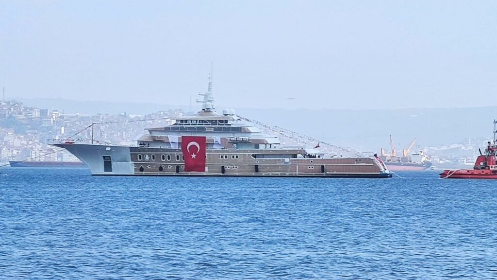 AKYACHT launches 85m explorer superyacht Victorious in Turkey 5
